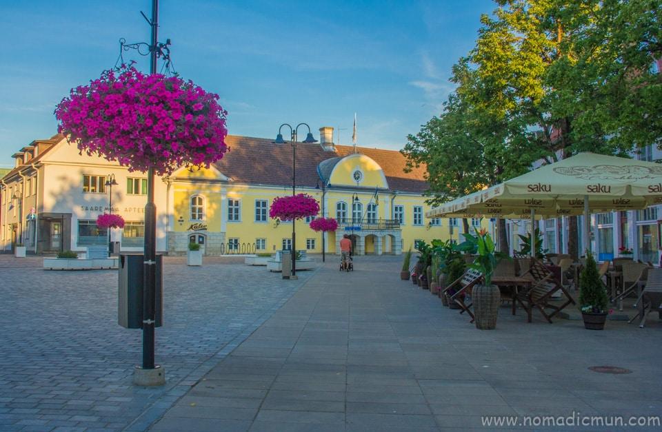 Kuressaare old town Saaremaa