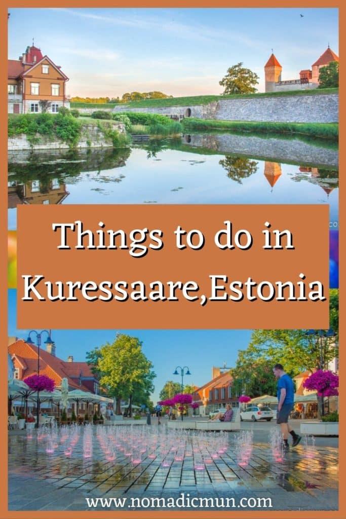 Things to do in Kuressaare Estonia