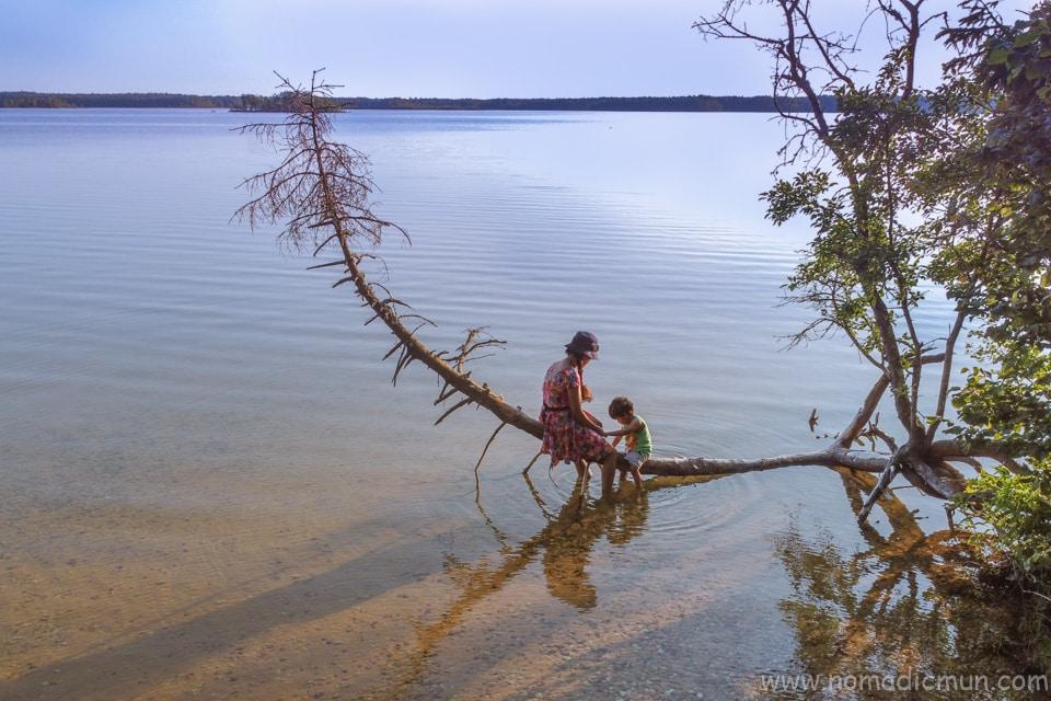 Lake Karujärve saaremaa estonia