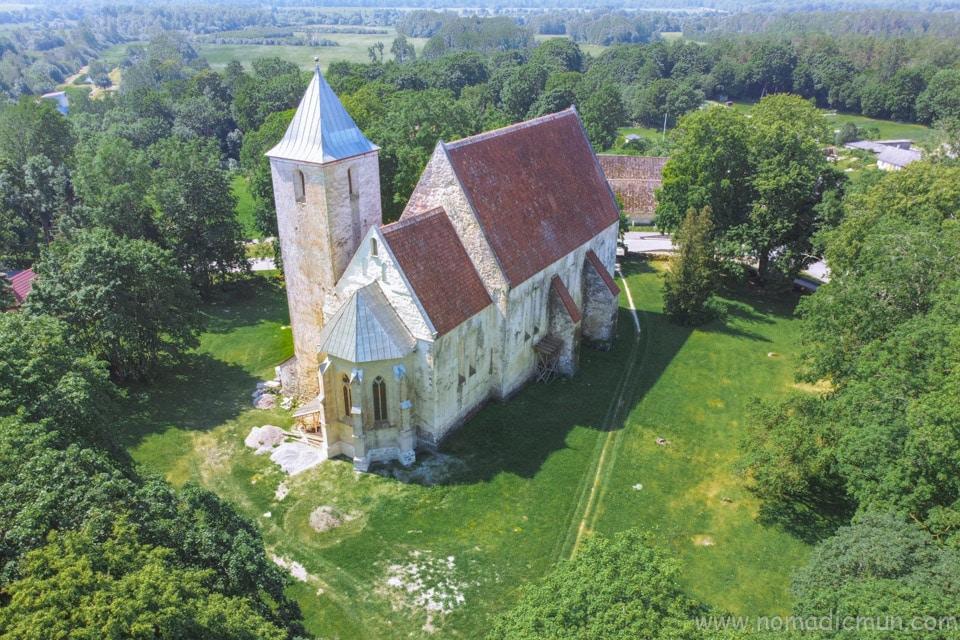 Valjala Church Saaremaa Estonia