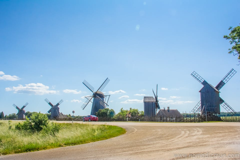 Angla Windmills Saaremaa