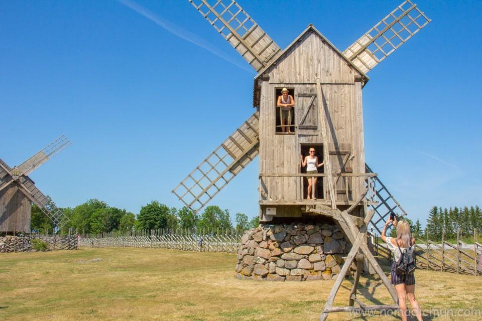 Angla Windmill saaremaa estonia