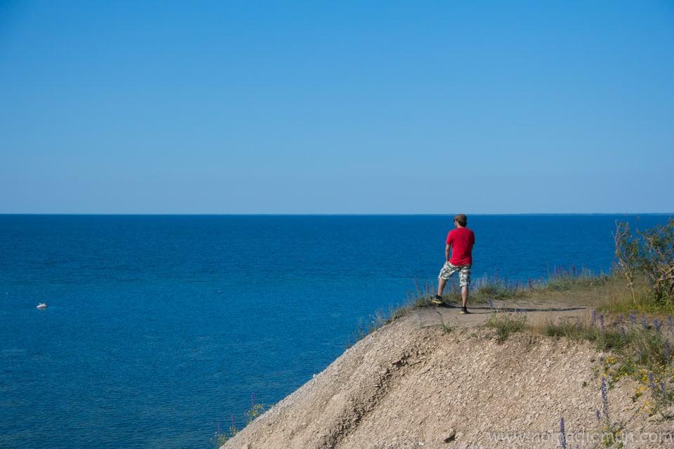 Panga cliff saaremaa estonia