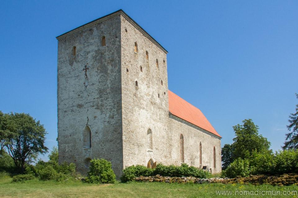 Pöide Church saaremaa estonia