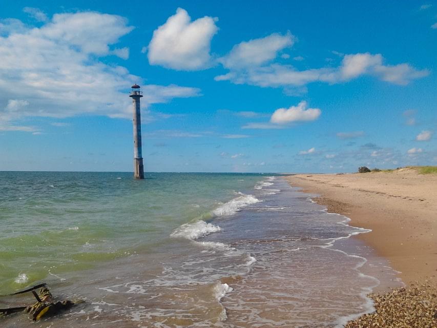 Kiipsaare lighthouse saaremaa estonia