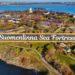 Suomenlinna from Drone